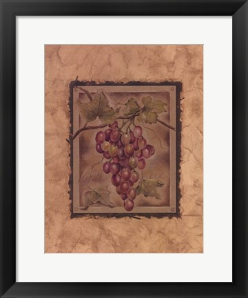 Framed Raisin Fructus Print