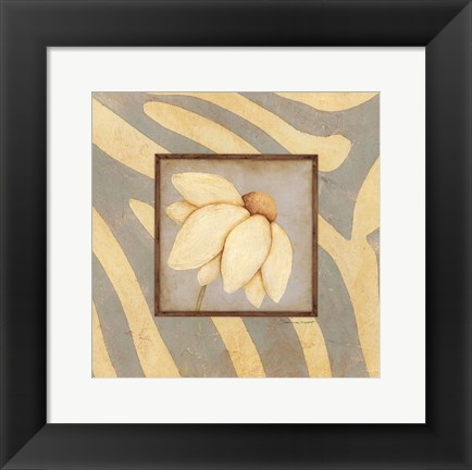 Framed Daisy Bloom Print