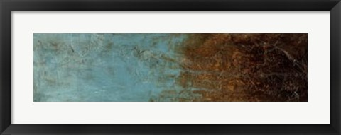 Framed Oxidized Copper III Print