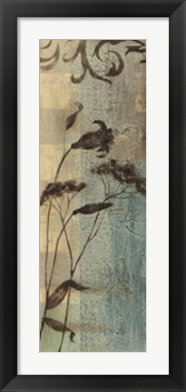 Framed Wildflower Resonance III Print