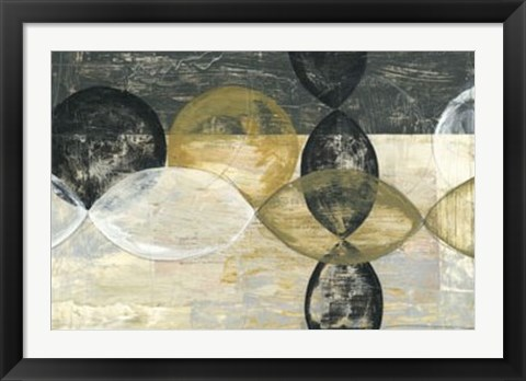 Framed Half Moon II Print