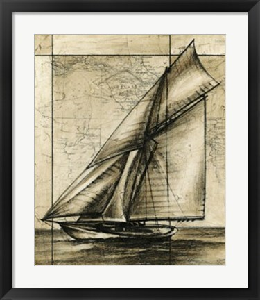 Framed Tradewinds I Print