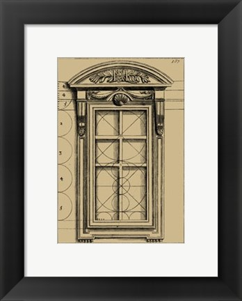Framed Palladian Window Print