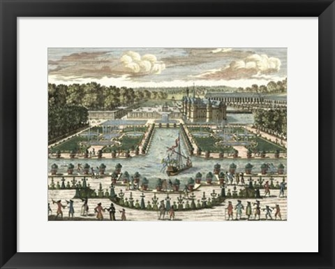 Framed View of France III Print
