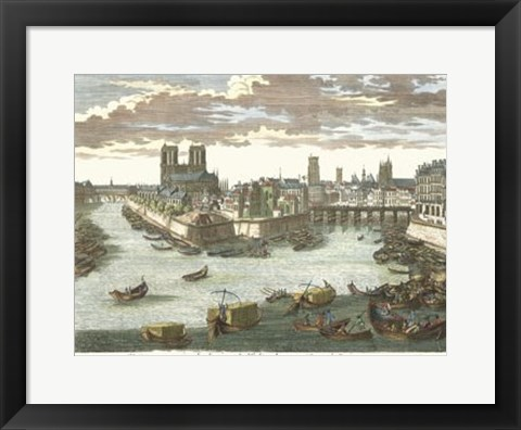 Framed View of France VII Print