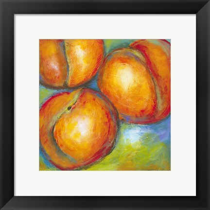Framed Abstract Fruits II Print