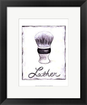 Framed Lather Print
