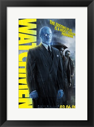 Framed Watchmen - style T Print