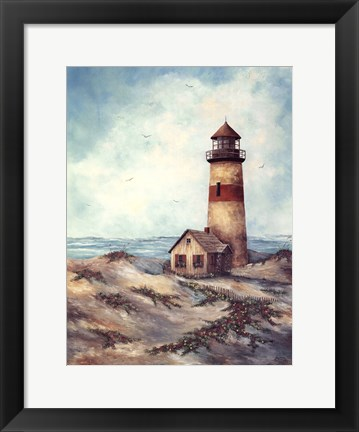 Framed Quiet Harbor Print