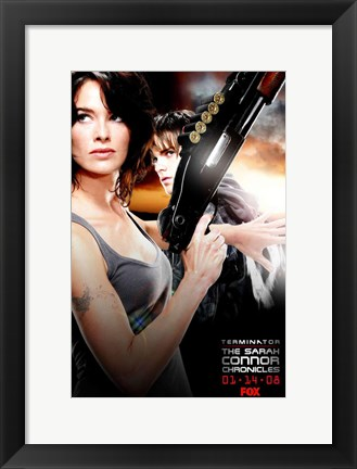 Framed Terminator: The Sarah Connor Chronicles - AH Print