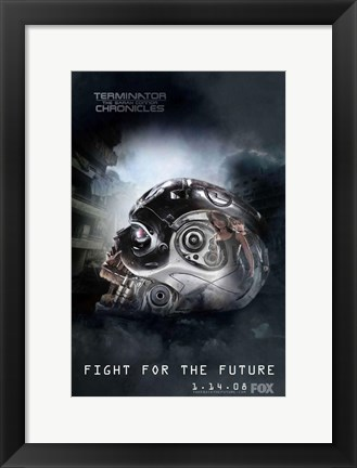 Framed Terminator: The Sarah Connor Chronicles - AI Print