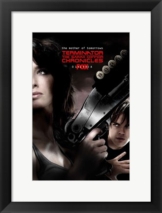 Framed Terminator: The Sarah Connor Chronicles - style AL Print