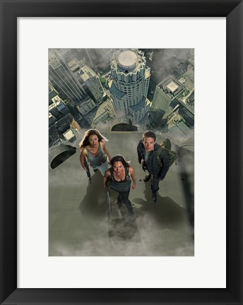 Framed Terminator: The Sarah Connor Chronicles - style AN Print