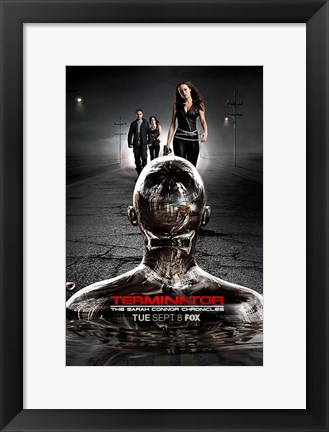 Framed Terminator: The Sarah Connor Chronicles - style BI Print