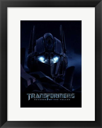 Framed Transformers 2: Revenge of the Fallen - style B Print