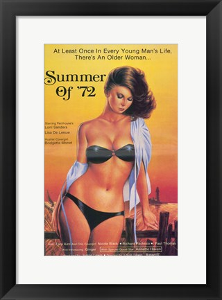 Framed Summer of '72, c.1982 Print