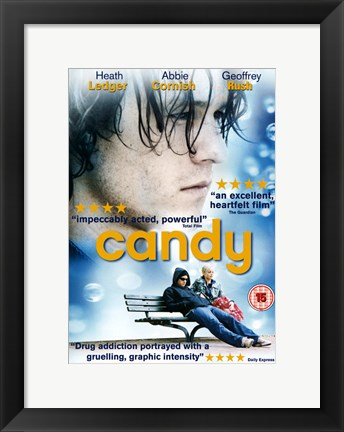 Framed Candy (UK style) Print