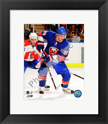 Framed Mike Comrie 2008-09 3rd Jersey Print