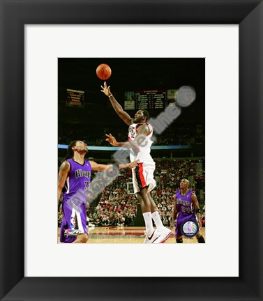 Framed Greg Oden 2008-09 Action Print