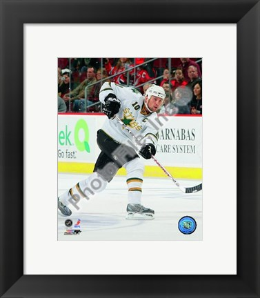 Framed Brenden Morrow 2008-09 Away Action Print