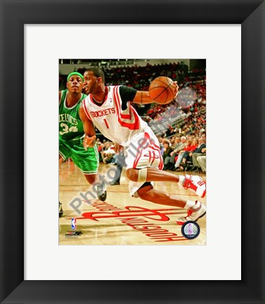 Framed Tracy McGrady 2008-09 Action Print