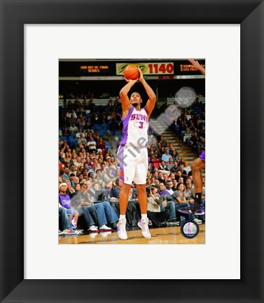 Framed Boris Diaw 2008-09 Action Print