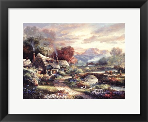 Framed Days End Retreat Print