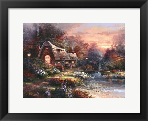 Framed Country Quiet Print