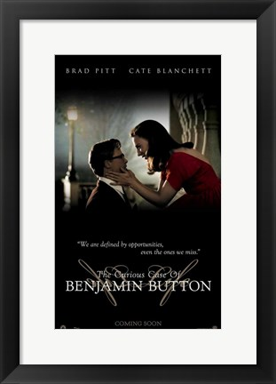 Framed Curious Case of Benjamin Button, c.2008 - style F Print