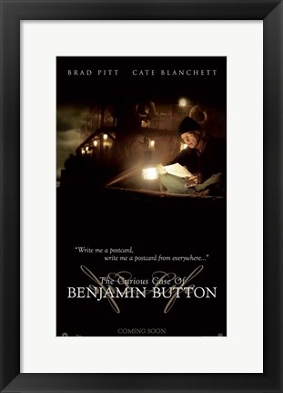 Framed Curious Case of Benjamin Button, c.2008 - style C Print