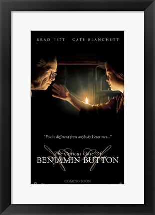 Framed Curious Case of Benjamin Button, c.2008 - style D Print