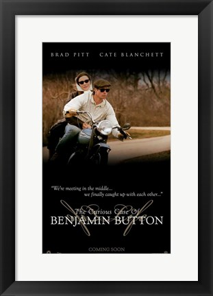 Framed Curious Case of Benjamin Button, c.2008 - style H Print