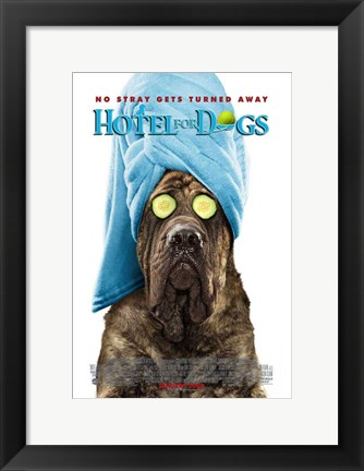 Framed Hotel for Dogs, c.2009 - style B Print