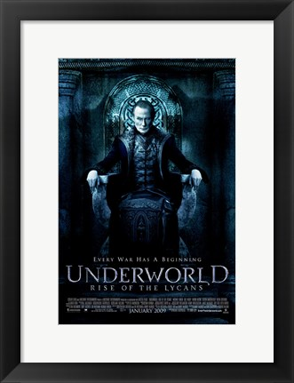 Framed Underworld 3: Rise of the Lycans, c.2009 - style B Print