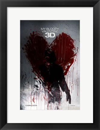 Framed My Bloody Valentine 3-D, c.2009 - style A Print