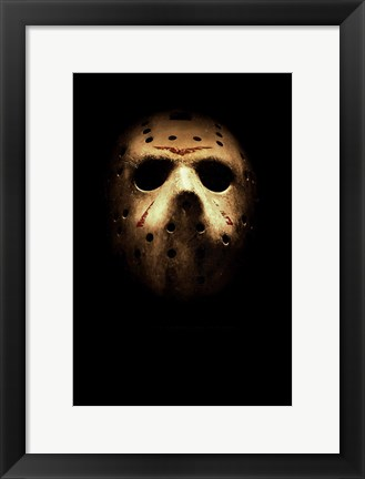 Framed Friday the 13th, c.2009 - style A Print