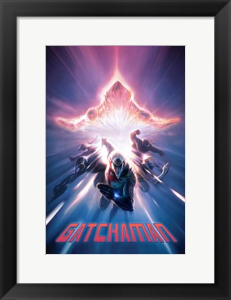 Framed Gatchaman (Battle of the Planets), c.2009 - style A Print