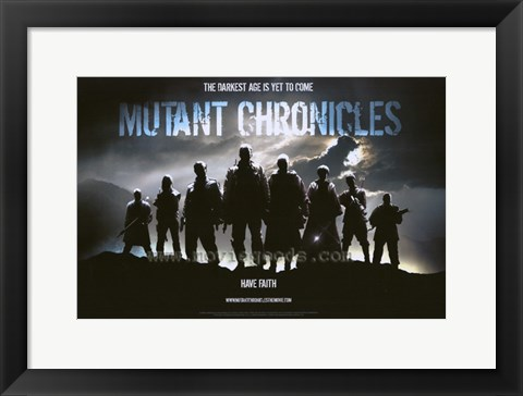 Framed Mutant Chronicles, c.2008 style A Print