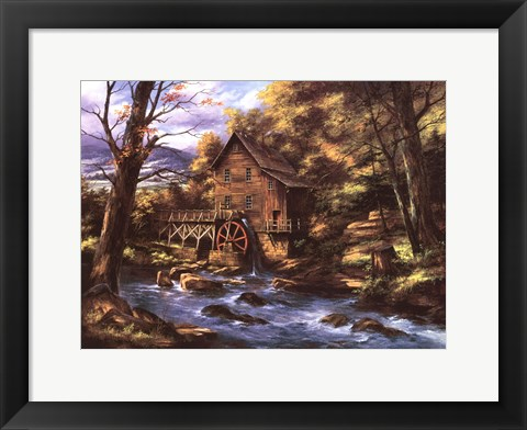 Framed Rocky Creek Mill Print