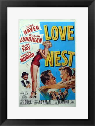 Framed Love Nest, c.1951 Print