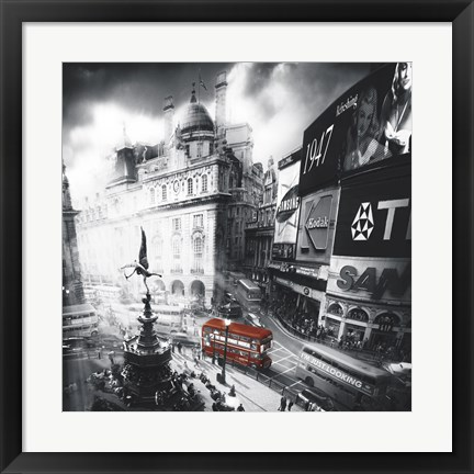 Framed Piccadilly Print