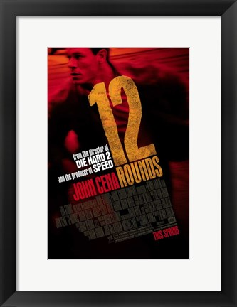 Framed 12 Rounds, c.2009 - style A Print