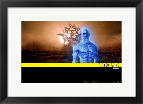 Framed Watchmen - style AM Print