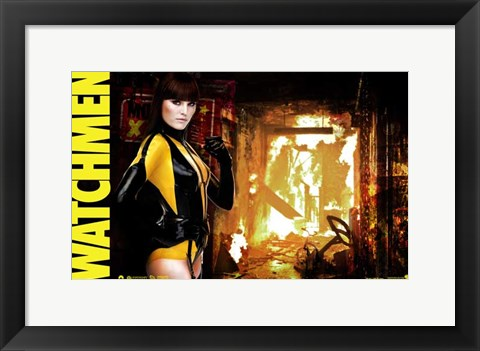 Framed Watchmen - style AE Print