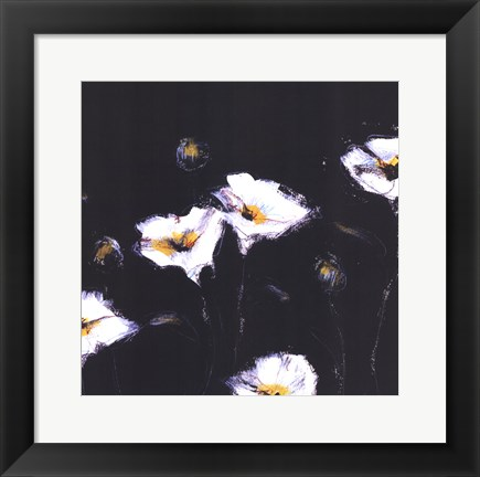 Framed Preening Poppies Print