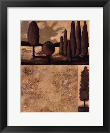 Framed Tranquil Repose II Print