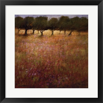 Framed Orchard Print