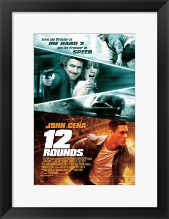 Framed 12 Rounds, c.2009 - style B Print