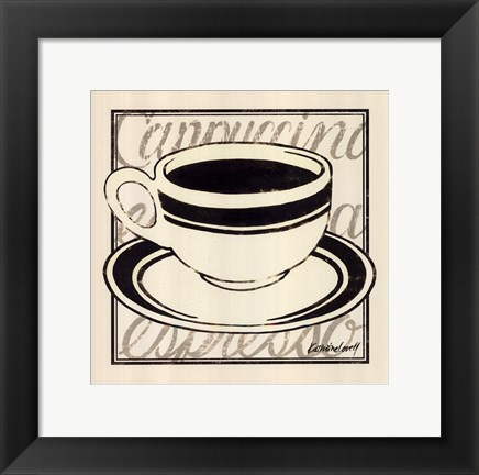 Framed Black Coffee Print