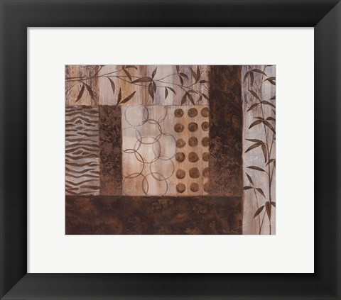Framed Abstract Exotic II Print